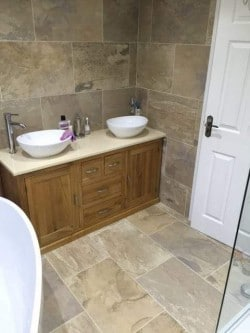 New Bathroom Installation by Nu Build Group, Barnsley, South Yorkshire