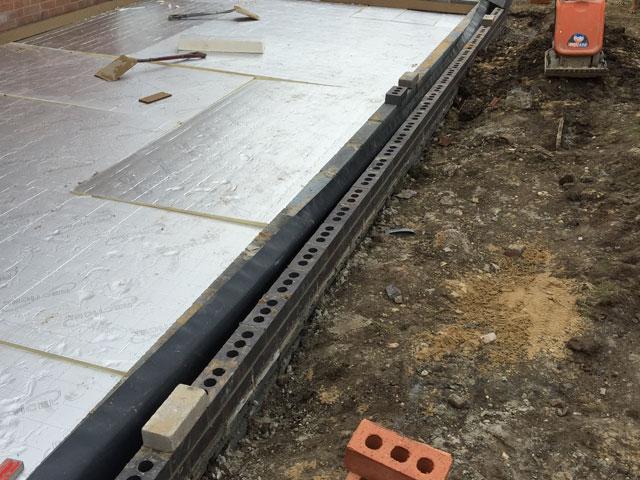 Extension Build in Doncaster - Brickwork