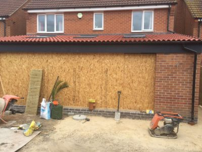 Extension Build in Doncaster - External