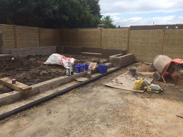 Extension Build in Doncaster - Groundwork