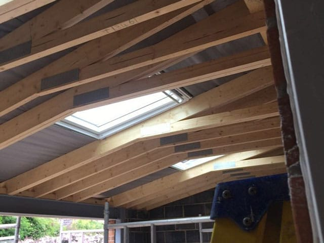 Extension Build in Doncaster - Roofing