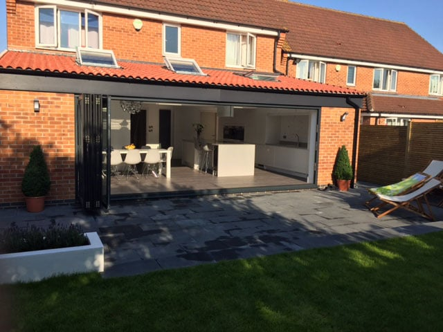 Extension Build in Doncaster - Finished External