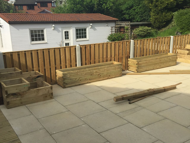 House Renovation in Sheffield for a Customer with Disabilities - Finished External Landscaping