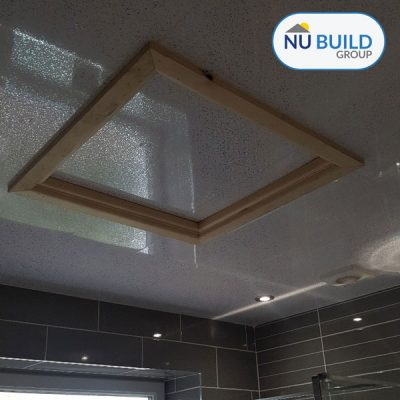 Bathroom Ceiling Cladding for Spotlights