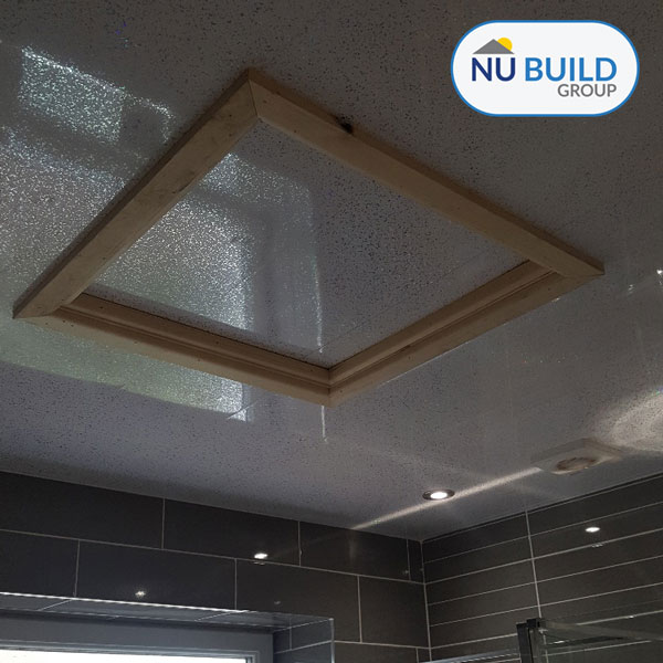 Bathroom Ceiling Cladding for Spotlights