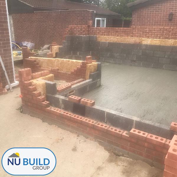 House Extension - Brickwork