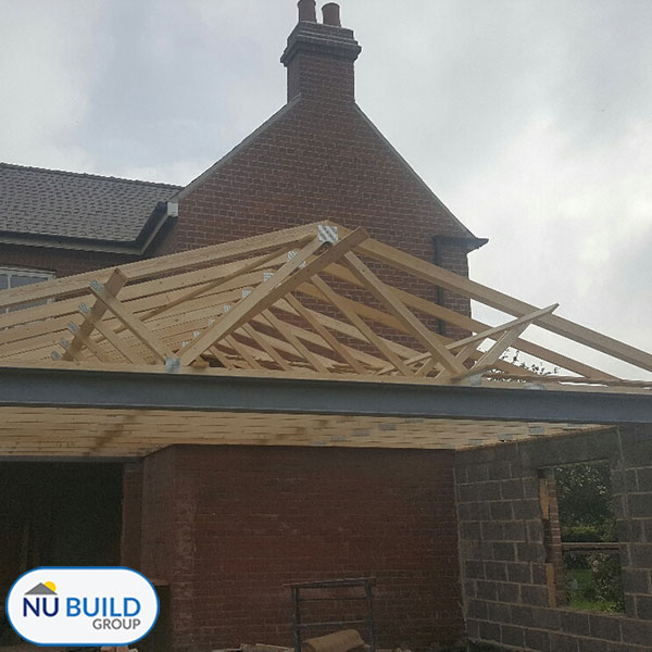 Farmhouse Extension Project Doncaster, Roofing