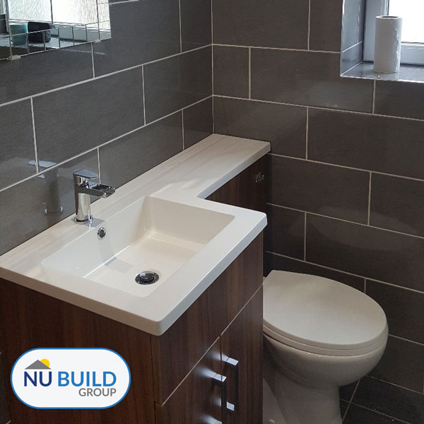 Finished Bathroom Suite, Wombwell, Barnsley