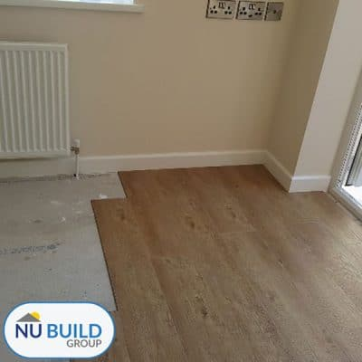 House Extension - Flooring & Joinery