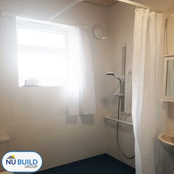 Accessible Bathroom for Disabled Wheelchair User, Barnsley