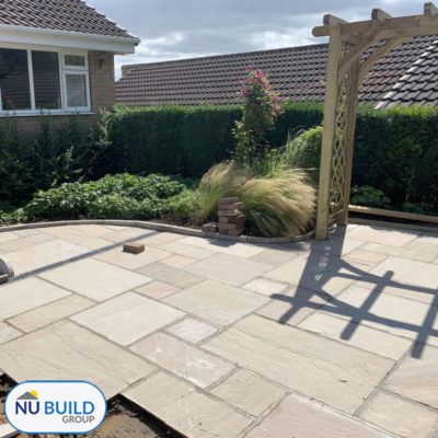 Disabled Accessible Garden & Patio Area, Sheffield   Nu Build Group