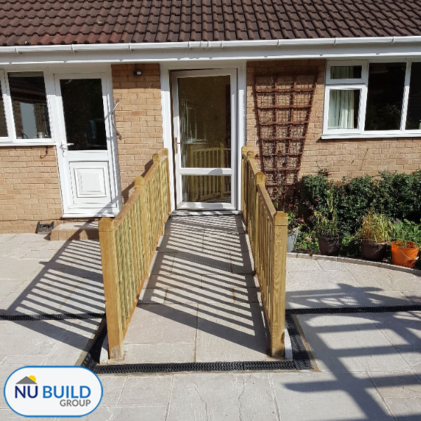 Disabled Accessible Garden & Patio Area, Sheffield | Nu Build Group