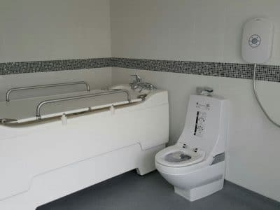 House Renovation in Sheffield for a Customer with Disabilities - Finished Bathroom